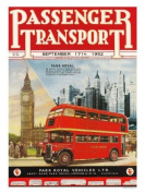 Passenger Transport London Bus Print - 40 x 30 cms