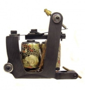 WAIKIZAISHI SHADER SERIES Dual 11-Wrap Coil JAPANESE Shogun Series Tattoo Machine
