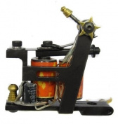 YARI colour SERIES Dual 11-Wrap Coil JAPANESE Shogun Series Tattoo Machine