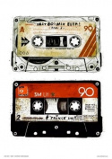 Tapes Pop Art Poster Print by Simon Walker Open edition