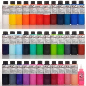 Tattoo Supplies - Skin Candy 36 Tattoo Ink Colours in 30ml Bottles