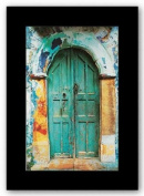 Arched Doorway (Black Border) by George Meis Art Print Poster