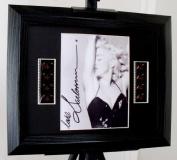 Madonna Signed + Original Film Footage Framed