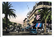 "Individual Vintage Postcard ""Cafe Rome 1950's"""