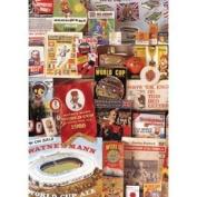 1966 World Cup Football Postcard