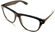 Clear Clark Kents - Retro Fashion Attitude Eyewear r , Black