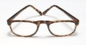 Glasses Reading 2.75 Power, 0. 5 Eye Plastic Tort Wireco