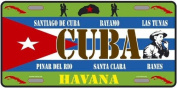 AMERICAN METAL PLATE AROUND THE WORLD COLLECTION CUBA