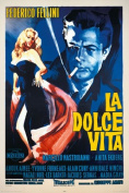 "La Dolce Vita - Movie Poster - 91.5x61cm"""