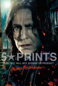 Harry Potter & The Deathly Hallows Signed PP by Alan Rickman A4 Poster Photo