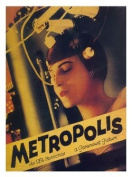 Metropolis Vintage Movie Poster Print New - Approx 40 x 30 cms
