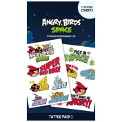 Angry Birds - Tattoo Sticker Space