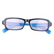 Anti-reflective Computer Glasses Blue Frame