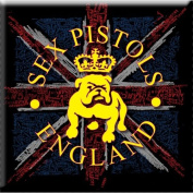 Sex Pistols - Magnets Bulldog and Flag