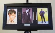 Elvis Presley Framed Gift Original Rare 35mm Film Footage