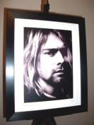 Kurt Cobain Limited Edition Framed Canvas Art Print