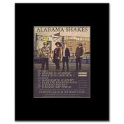 ALABAMA SHAKES - UK Tour 2012 - 13.5x10cm