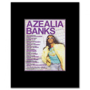 AZEALIA BANKS - UK Tour 2012 - 13.5x10cm