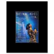 BAT FOR LASHES - UK Tour October 2012 - 13.5x10cm