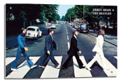 The Beatles Poster Abbey Road Float Mounted - 90 x 60cms