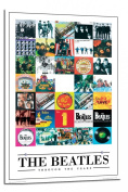 The Beatles Poster Through The Years Float Mounted - 90 x 60cms
