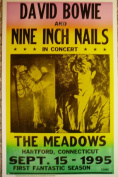 """Ron's Past and Present """"David Bowie And Nine Inch Nails At The Meadows In Hartford, Ct"""