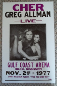 Ron's Past and Present Cher And Greg Allman Live In Biloxi Mississippi Nov. 21 1977