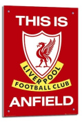 Liverpool FC Poster This Is Anfield Float Mounted - 90 x 60cms