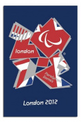 London 2012 Paralympics Union Jack Poster - 91.5 x 61cms