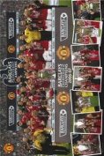 Manchester United - Champions 06/07 - 91x61cm