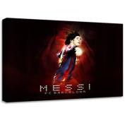 Messi Barcelona Football Canvas Art Print Poster