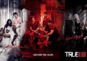 True Blood Comic-Con Cast x7 Signed PP Stephen Moyer Alan Ball Anna Paquin Alexander Skarsgard Sam Tramell Charlaine Harris Deborah Ann Woll A4 Photo