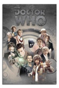 Doctor Who Doctors Through Time Poster - 91.5 x 61cms