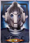 Doctor Who CYBERMAN POSTER - (90cm x 60cm ) Official Dr Who Item pp30644