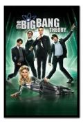 The Big Bang Theory Poster Black Framed - 96.5 x 66 cms