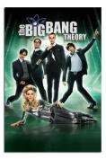 The Big Bang Theory Poster Satin Matt Laminated - 91.5 x 61cms