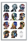 Doctor Who Doctors Silhouettes Poster - 91.5 x 61cms
