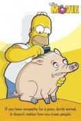 Simpsons - Dumb Animals - 91x61cm