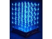VELLEMAN K8018B 3D LED CUBE 5 x 5 x 5 (bLue LED) KIT