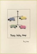 Penny Lindop Designs - Handmade Card - New Baby Sheep Mobile