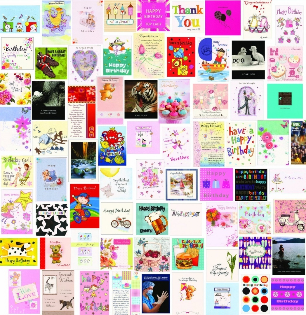 60 Wholesale Mixed Bulk Selection Pack Of Birthday Greeting Cards Every Occasion By Greetingsbox Card Packs