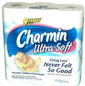 Charmin Ultra Soft Bathroom Tissue Family Rolls