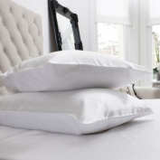Pair 100% 16 Momme Charmeuse Silk Pillowcase With Cotton underside 50 x 75 cm