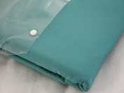 Homescapes 200 Thread Count Ultrasoft - Plain Teal Fitted Sheet - Single - 100% Egyptian Cotton Percale, Anti Dust Mite
