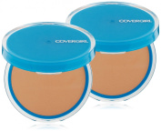 CoverGirl Clean Pressed Powder, Oil Control, Warm Beige 545