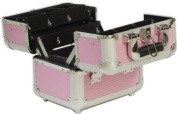 Beauty-Boxes Valene Pink Cosmetics and Make-up Beauty Case