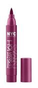 New York Colour Smooch Proof Lip Stain, Forever Mine Wine, 0.1 Fluid Ounce