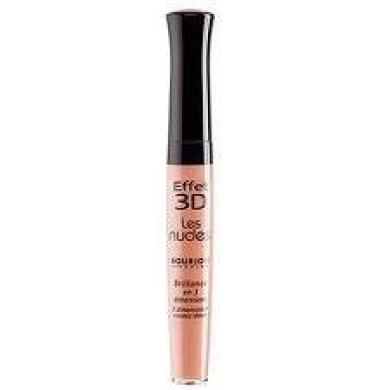 Bourjois Effet 3D Les Nudes Lip Gloss Colour: 33 Brun Poetic