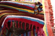 Fair Trade Handmade Recycled Rag Rug Large 1.8m x 1.2m