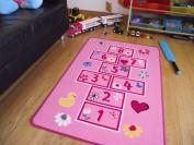 Childrens Large Hopscotch Play Mat. Size 80cm x 120cm